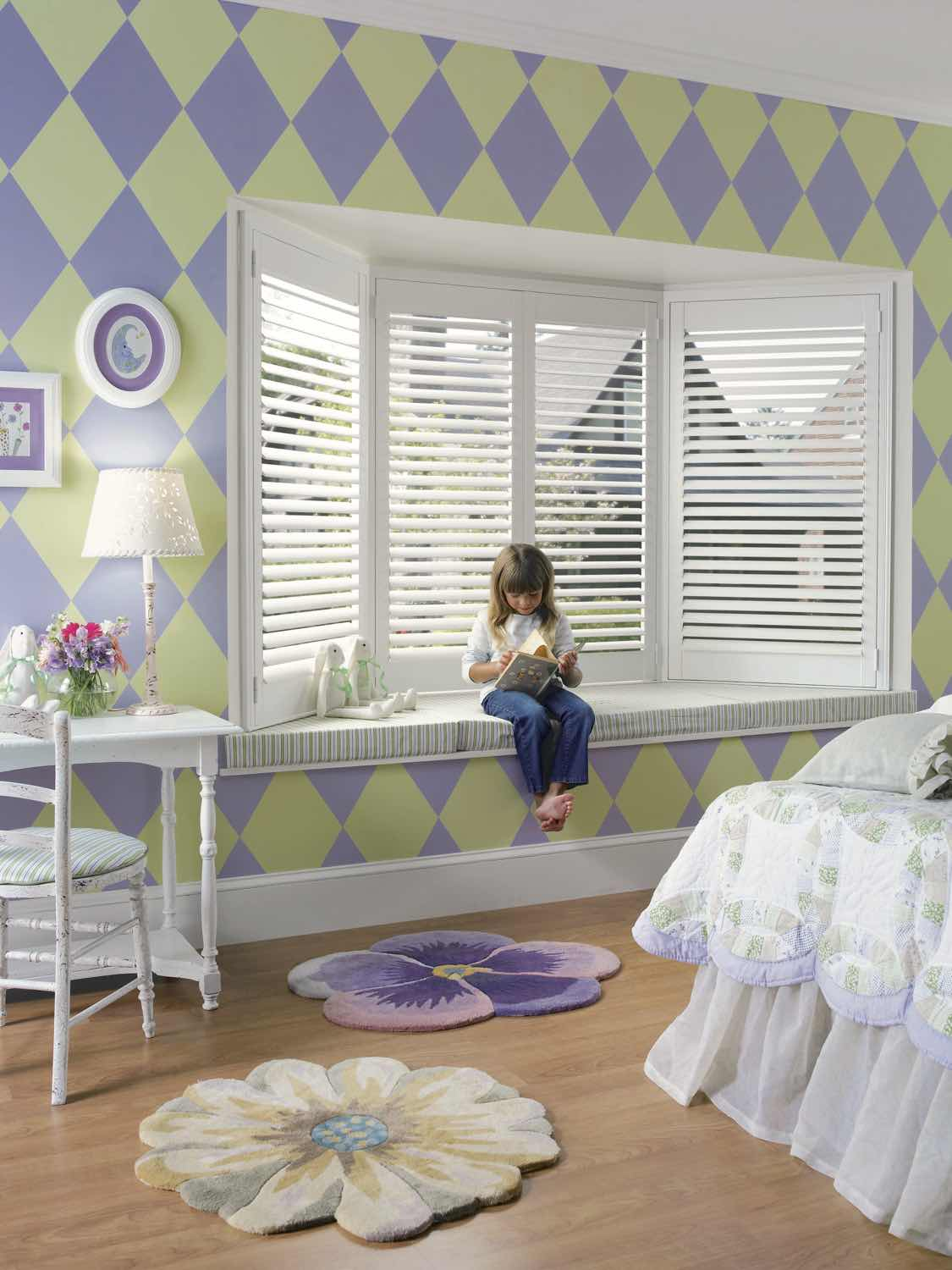 Bedroom Shutters - Today's Interiors