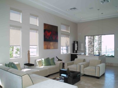 Custom Motorized Shades - Today's Interiors