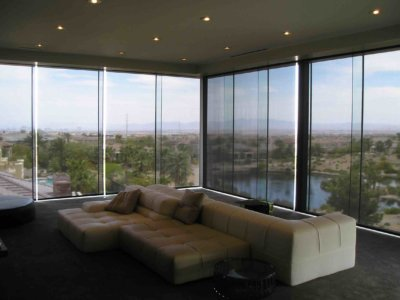 Custom Roller Shades - Today's Interiors