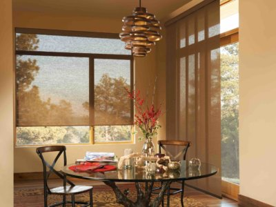 Dining Room Window Shades - Today's Interiors