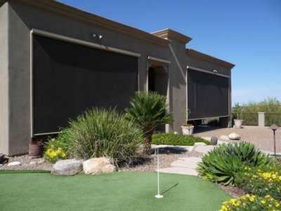 Exterior Motorized Outdoor Coverings - Today's Interiors