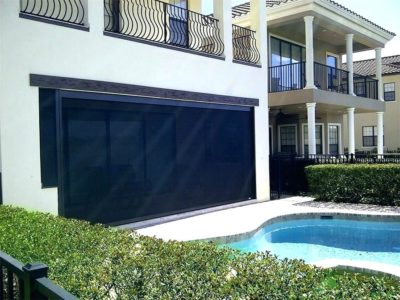 Exterior Poolside Shades - Today's Interiors