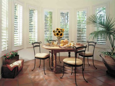 Hardwood Window Treatment - Today's Interiors
