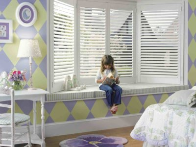 Child Bedroom with Window Shutters - Today's Interiors