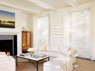 Living Room Window Shutters - Today's Interiors