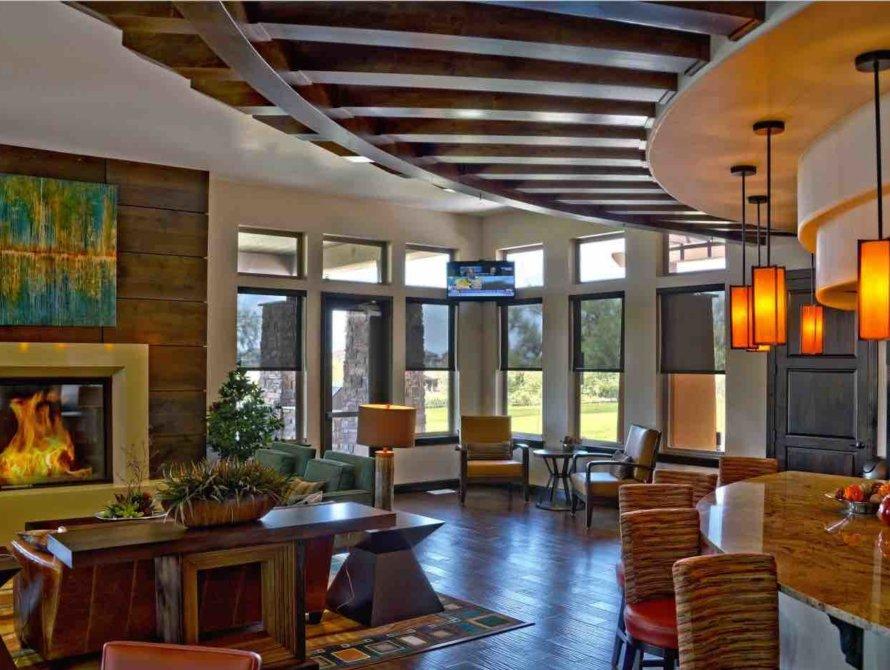 Livingroom Interior Shades - Today's Interiors