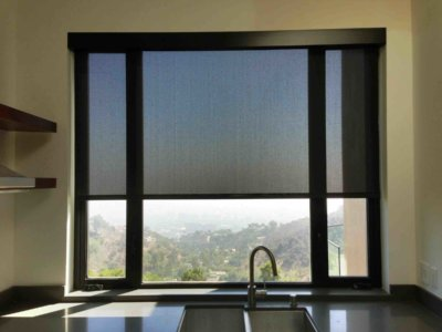 Mendoza Motorized Kitchen Shades - Today's Interiors