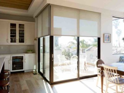 Motorized Solar Shades - Today's Interiors