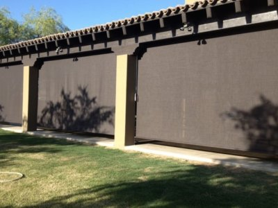 Outdoor Patio Sunscreens - Today's Interiors