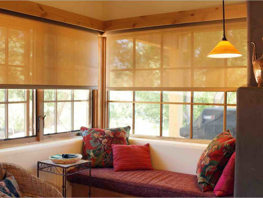 Solar Shades Interior Coverings - Today's Interiors