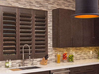 Wooden Kitchen Shutters - Today's Interiors