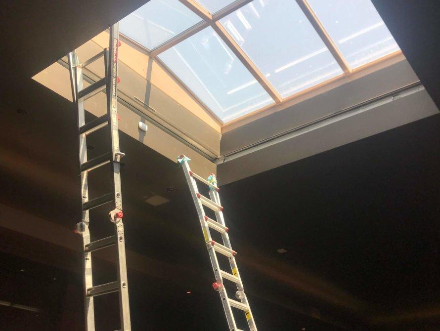Custom Skylight Blinds - Today's Interiors