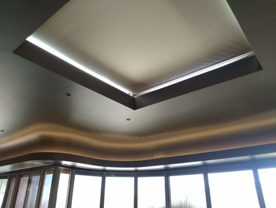 Oversized Skylight Shades - Today's Interiors