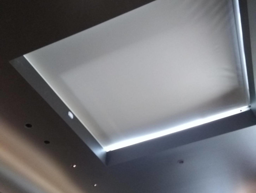 Skylight Roller Shades - Today's Interiors